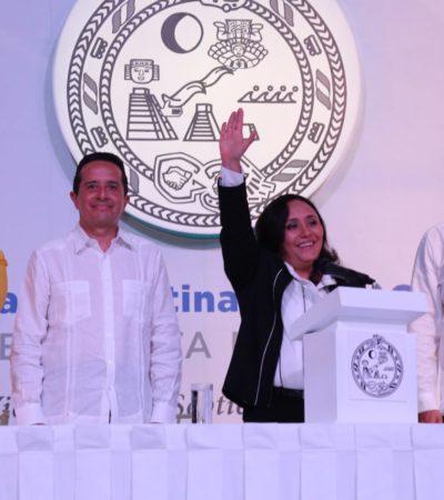 BUSCARÁ CRISTINA TUMBAR CONCESIÓN DE AGUAKÁN: Asume Alcaldía de Solidaridad y dice que no pasarán corruptelas anteriores