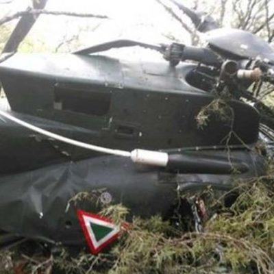 CAE HELICÓPTERO DE LA SEDENA: Dos muertos y un herido en accidente en Ciudad Victoria