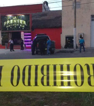 SIGUE LA OLA DE VIOLENCIA EN CANCÚN: Comando armado realiza disparos contra el bar 'La Premier' en la Región 95 al amanecer
