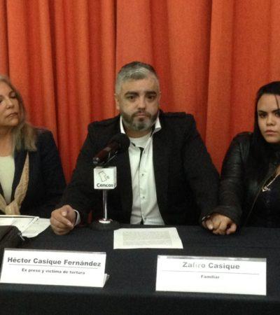 HÉCTOR CASIQUE RECLAMA JUSTICIA: Torturado y encarcelado durante el borgismo, reaparece el ex escolta para advertir que no parará