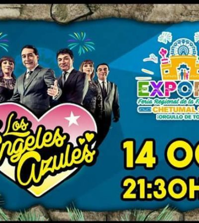 """EXPOFER CHETUMAL 2016: """"Contra todos los pronósticos"""", arranca la Feria Regional de la Frontera Sur; hoy, los Ángeles Azules"""