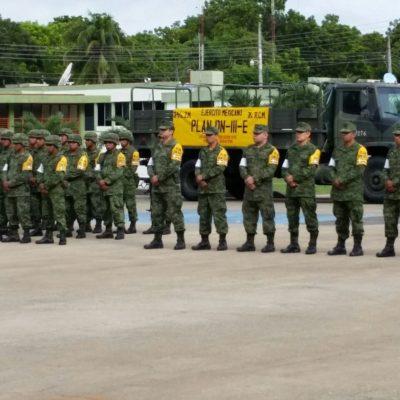 """""""SIN DILACIÓN, SIN TITUBEOS… ACUDIREMOS"""": Celebra Ejército 50 años de la creación del Plan DN-III-E"""