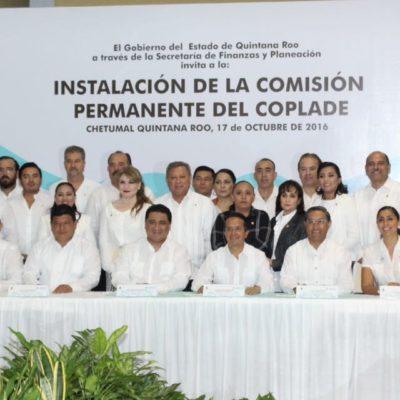 Instala Carlos Joaquín el Coplade