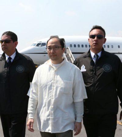EXTRADICIÓN EN 'CALIENTE': Entrega EU a Zhenli Ye Gon a México y lo trasladan al penal de 'El Altiplano'