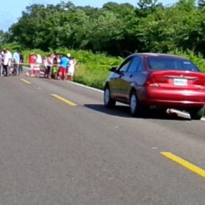Muere un menor en trágico accidente en carretera de FCP
