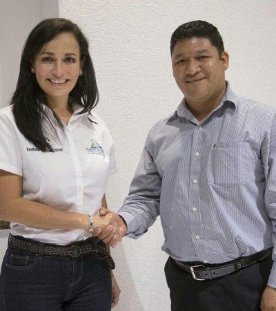 Acelerarán titulación de bienes municipales de Puerto Morelos para obtener recursos federales