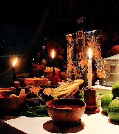 SE SINCRONIZAN CON LA TRADICIÓN DEL 'HANAL PIXÁN': Alistan muestras de altares de muertos en museos y casas de la cultura de QR