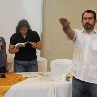 ELIGE PRD A NUEVO PRESIDENTE EN QR: Jorge Carlos Aguilar Osorio permanecerá en el cargo hasta el próximo año