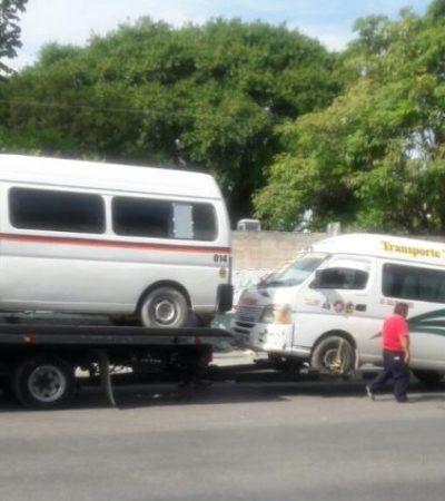 Emiten medida cautelar contra Sintra y policías de Cancún para respetar derechos ciudadanos en operativos de verificación vehicular