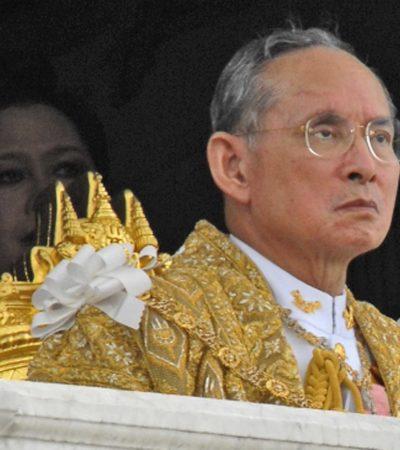 Muere Bhumibol Adulyadej de Tailandia, el monarca de reinado más largo del mundo