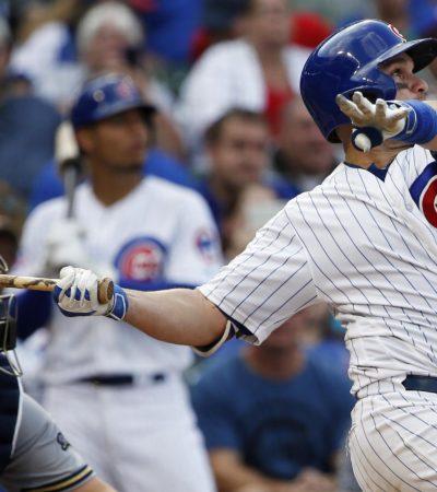 Cachorros de Chicago vence a Dodgers en el arranque de la serie de campeonato de la Liga Nacional