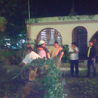 Le llueve a Luis Torres en su primer día como Alcalde; activan 'Operativo Tormenta' en Chetumal