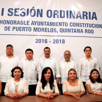 Ratifica Cabildo de Puerto Morelos al director de Seguridad Pública y aprueba nombramientos de funcionarios del Gobierno de Laura Fernández