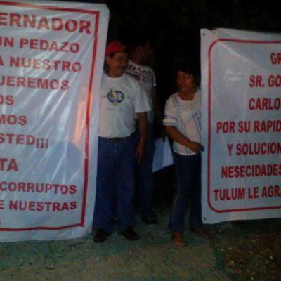 """DESALOJAN INVASIÓN EN TULUM: """"No toleraremos actos ilegales ni chantajes"""", advierte López Mena tras pactar acuerdo con 'paracaidistas'"""