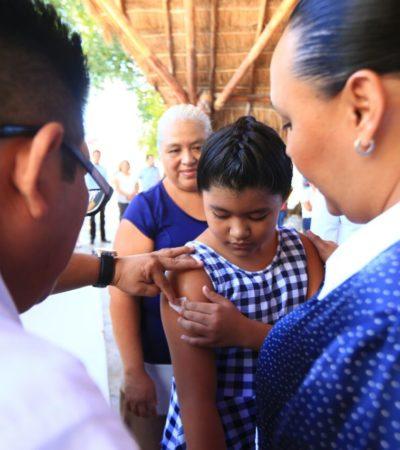 Dice Cristina Torres que van a mejorar la atención en los 5 centros de salud bajo control de la comuna en Solidaridad