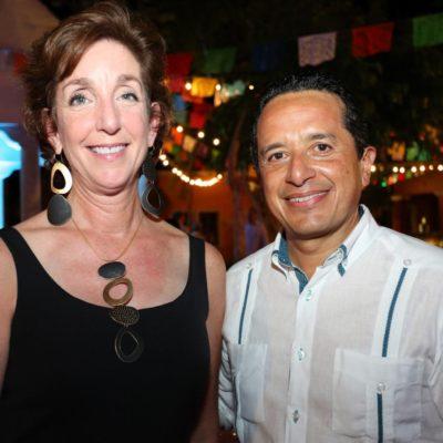 Se reúne Carlos Joaquín en la Riviera Maya con embajadores EU y Canadá en México