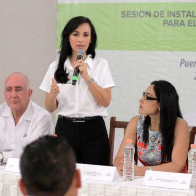 Instalan el Coplademun en Puerto Morelos; ofrece Alcaldesa escuchar a todos