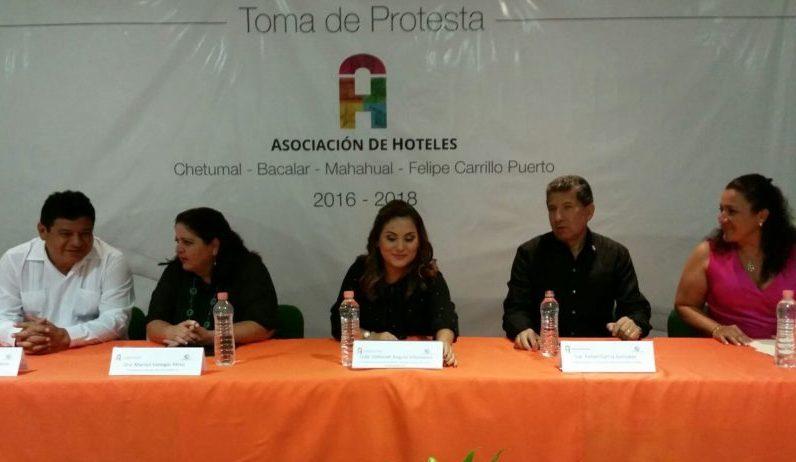 Asume Deborah Angulo Villanueva presidencia de la Asociación de Hoteles y Moteles de la Zona Sur de QR