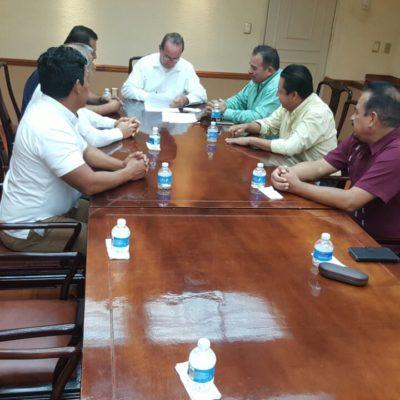 Acuerdan tregua taxistas de Cancún y Puerto Morelos en disputa por el Moon Palace