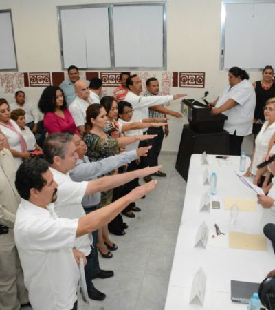 Instalan Coplademun en Othón P. Blanco