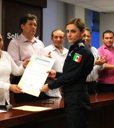 Entrega Cristina Torres nombramientos a nuevos funcionarios de Solidaridad