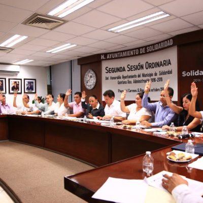 Rinde protesta ante Cabildo nuevo titular del DIF en Solidaridad