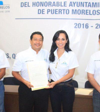 """MÁS NOMBRES DEL GABINETE DE LAURA: Pide Alcaldesa de Puerto Morelos a nuevos funcionarios """"entregar buenas cuentas"""""""