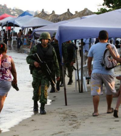 Con huellas de tortura, hallan ejecutados a dos militares en Acapulco