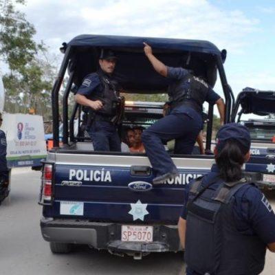 Dos heridos de bala en una zona de invasión en Playa del Carmen