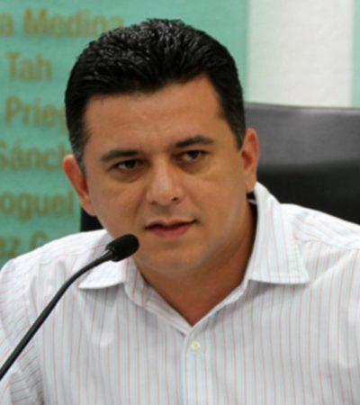 Denuncian reubicación de 'cuates' de Fredy Marrufo en la comuna de Perla Tun, sindicalizados de última hora