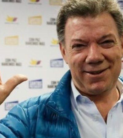"""DAN NOBEL DE LA PAZ A PRESIDENTE DE COLOMBIA: Galardonan a Juan Manuel Santos por los """"esfuerzos para poner fin a la guerra civil de más de 50 años"""""""