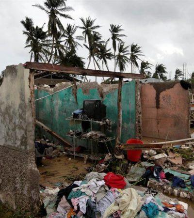 SE ELEVA EL SALDO DE LA TRAGEDIA: Suman ya casi 500 muertos por el paso del huracán 'Matthew' en Haití