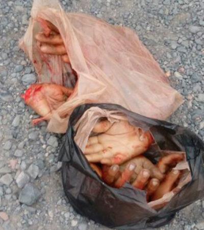 BRUTAL ESCARMIENTO A PRESUNTOS LADRONES: Encuentran a 6 personas con las manos amputadas en Tlaquepaque