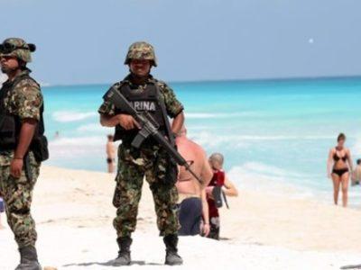 """""""NO DEBEMOS QUEDARNOS CON LOS BRAZOS CRUZADOS"""": """"Ante atrocidades de todo tipo"""", propone empresario militarizar la Zona Hotelera de Cancún"""