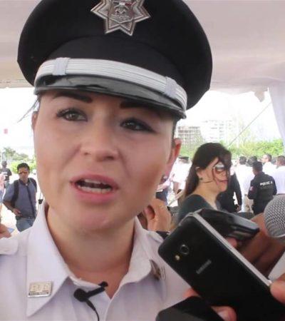 Relevan a Edith Araceli Rodríguez Navarro, coordinadora de la Policía Federal de Quintana Roo; otra mujer, la sustituta
