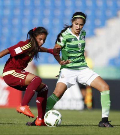 Elimina Venezuela al Tri femenil del Mundial de Jordania