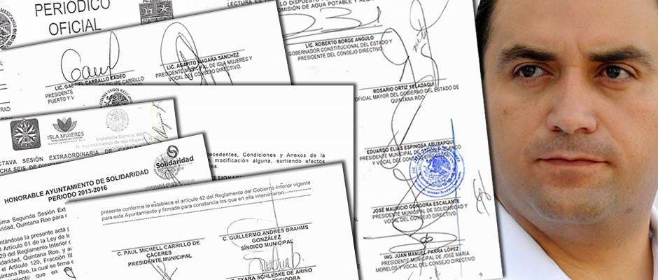 """""""NO HABÍA MOTIVO PARA CONCESIONAR"""": La entrega del agua a Aguakán provocó grave daño financiero a CAPA, dice Gerardo Mora; revela planes de Borge para privatizar Cozumel y Chetumal"""