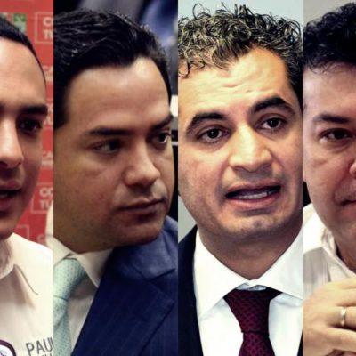 LE MUEVEN EL TAPETE A 'RAY' Y A 'MAU': Llega Enrique Ochoa Reza a Cancún y 'Chanito' alza la mano para dirigir al PRI en QR