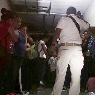 Rescatan a 12 hondureños secuestrados en Tabasco; detienen a 4 plagiarios