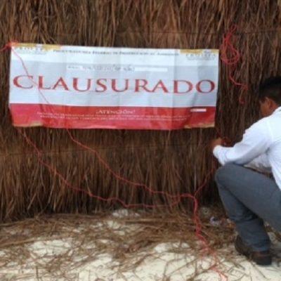 Clausura Profepa hotel 'Coqui Coqui', uno de los 'despojados' por conflicto de tierras en Tulum
