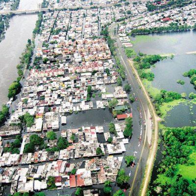 CUANDO VILLAHERMOSA SE FUE AL AGUA: Recuerdan 9 años de la histórica inundación en la capital de Tabasco