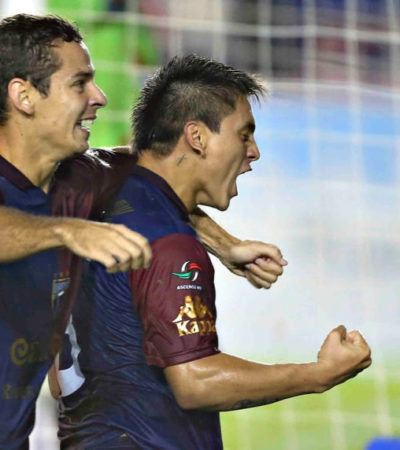 SACAN POTROS LA CARA EN CANCÚN: Da Atlante voltereta y derrota 2-1 a Bravos FC Juárez