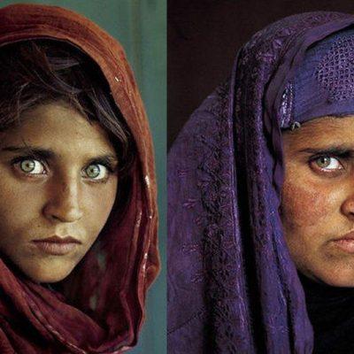 Por adquirir documentos de identidad falsos, detienen en Pakistán a la 'niña afgana' de National Geographic