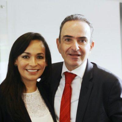 Viaja Laura Fernández al CDMX y se reúne con secretario de Comisión de Presupuesto para gestionar más recursos para Puerto Morelos