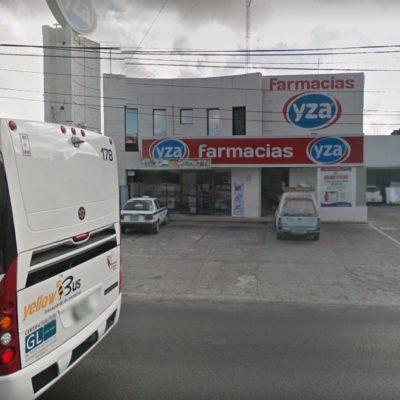 INSEGURIDAD EN CANCÚN: Asaltan cinco farmacias Yza y un Oxxo ¡en menos de dos horas!