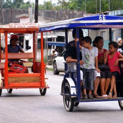 Fijan pautas para regular servicio de motos y tricitaxis en la comunidad de Leona Vicario