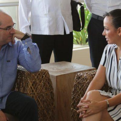 Pide Laura Fernández coordinar esfuerzos para resolver los problemas de abasto de agua potable ahora y en el futuro