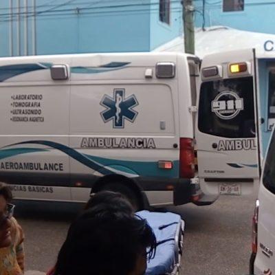 ACCIDENTE EN PLAYA: Chocan vehículos en plena Avenida 30 y mandan al hospital a persona de la tercera edad que hablaba por teléfono