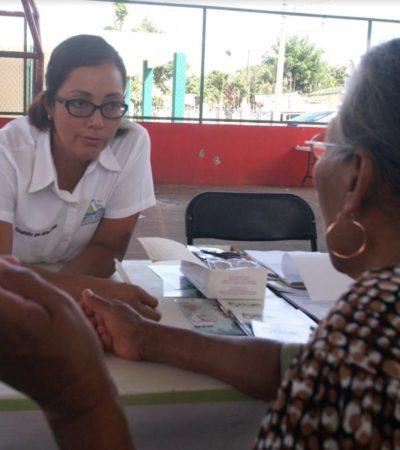 Van funcionarios de Puerto Morelos a Leona Vicario para atender a la población