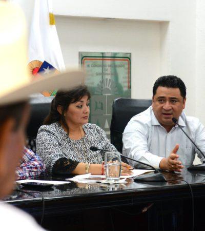 Se reúnen diputados con ejidatarios de Bonfil por amenaza de embargo del SAT